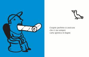 Il manuale dell'ospite perfetto, di Teresa Sdralevich, edizioni La grande Illusion