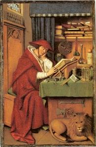 'San girolamo nello studio' di Jan van Eyck, 1442